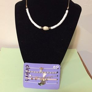 Claire's necklace and bracelets NEW as shown